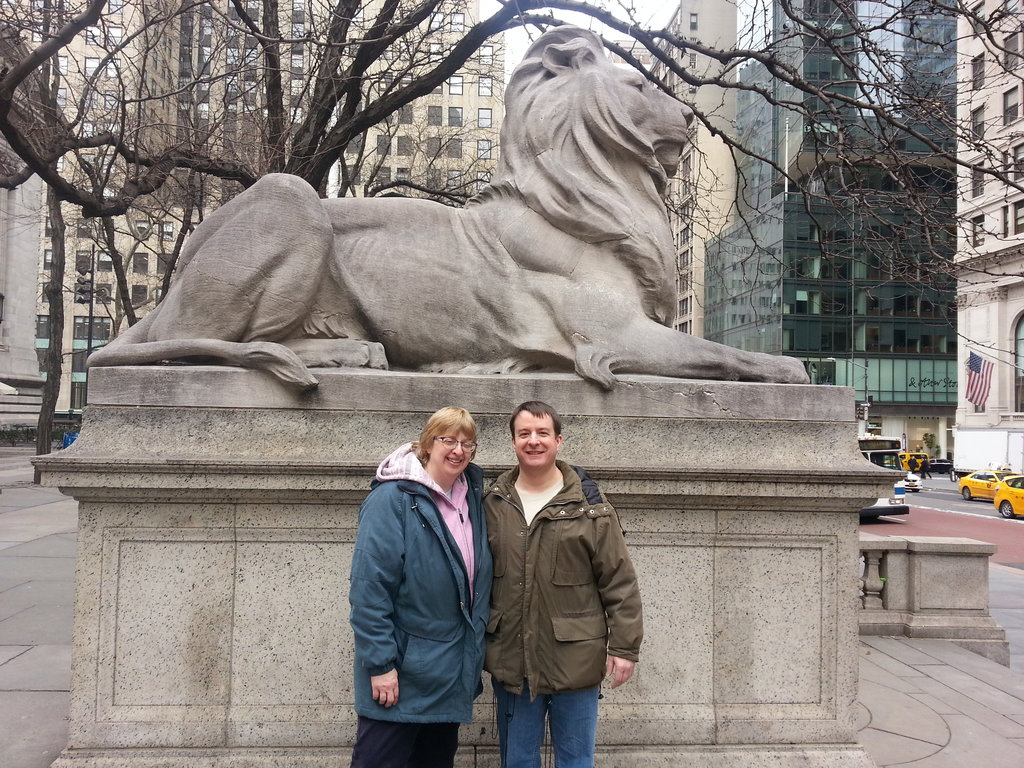 At New York Public Library